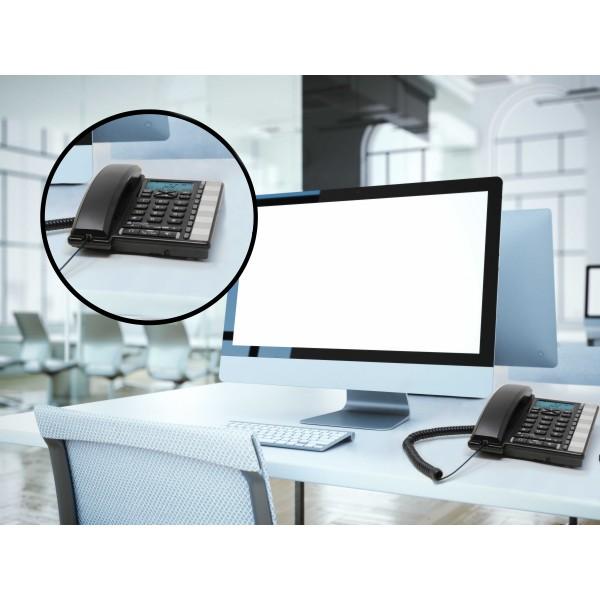 Téléphone de bureau professionnel haut de gamme complet