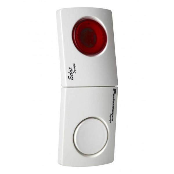Conjunto de toques analógicos de som e luz de sinais de chamada