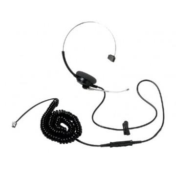 Headset for line test set