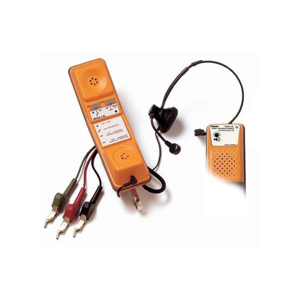 Teléfono de prueba para montadores, instaladores y trabajadores del cable