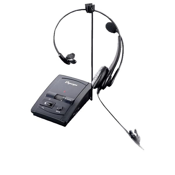 Micro-casque HD Ampli-inverseur qui permet de brancher le casque et le combiné