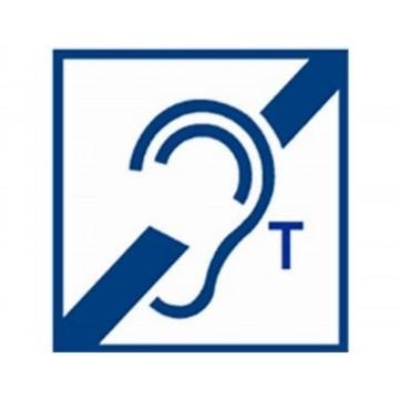 Opção anel de indução deficiente auditivo longo alcance para interfones SecurAccess PMR Analógicos