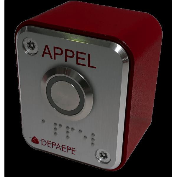 Red remote call button