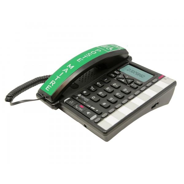 Estación maestra que recibe llamadas de los intercomunicadores instalarse en el EAS