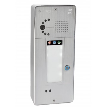 Gray IP intercom 1 button