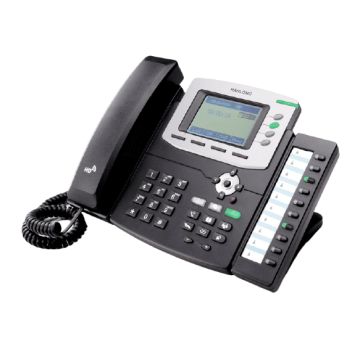 SIP Desk Phone with high-resolution graphic LCD