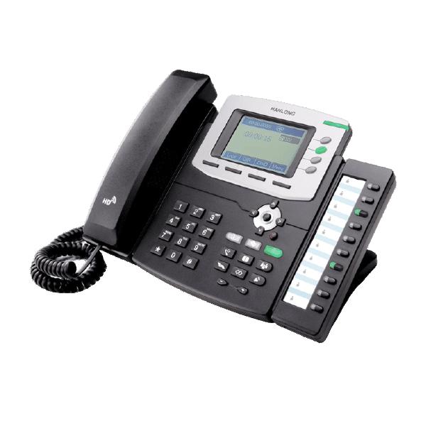 Téléphone de bureau SIP écran LCD haute résolution