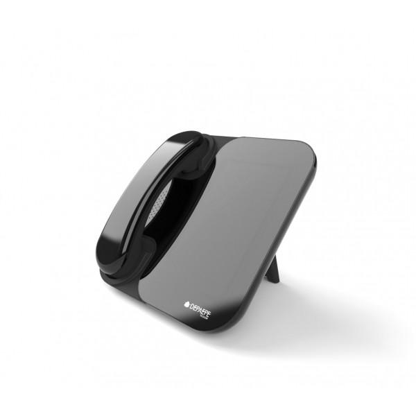 Black full IP / SIP videophone HD touchscreen
