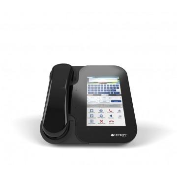 Visiophone SIP HD visio tactile preto ecrã cor