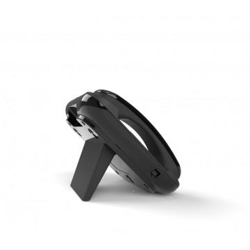 Visiophone SIP noir HD visio moniteur de réception pour accès IP/SIP